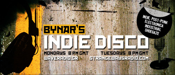 Bynar's Indie Disco is a radio show filled with indie rock, post-punk, shoegaze, alternative, gothic, and electronic music.