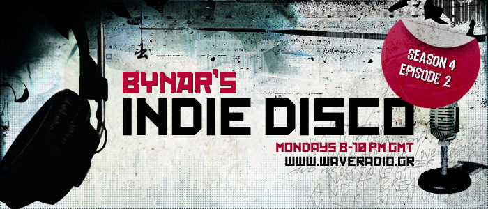 Bynar's Indie Disco S4E02 radio show playlist (4/2/2013)