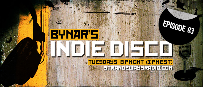 Indie Disco on Strangeways Radio #83 | Indie Disco on Strangeways is a one-hour radio filled with indie rock, post-punk, shoegaze, alternative, gothic, and electronic music that airs every Tuesday at 8 p.m. GMT (3 p.m. EST) on www.strangewaysradio.com